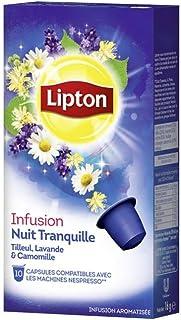Lipton Infusion Nuit Tranquille (30 capsules)-Lot de 3