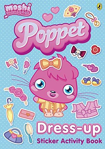 Moshi Monsters: Poppet Dress-up Sticker Activity Book