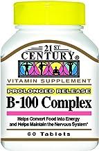 21st Century Vitamin B-100 Complex 60 Count (6 Pack)
