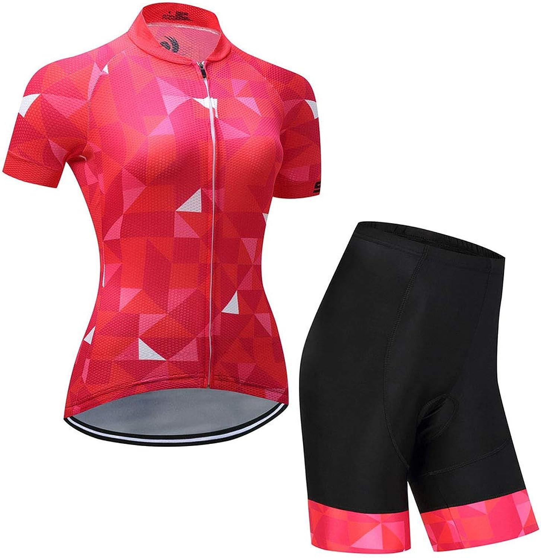 CNBPLS Laufsportbekleidung für Damen im Frühjahr und Sommer Bequeme und atmungsaktive Kurzarmtrikot-Reitausrüstung