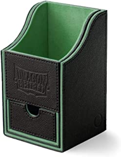 Arcane Tinman Dragon Shield: Nest Plus Deck Box - Black & Green, Large AT-40202