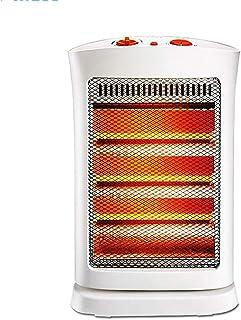 Radiador eléctrico MAHZONG Calentador Hogar Ahorro de energía Ahorro de energía Agitar la Cabeza Sincronización Volcado Protección de Falla de energía -1200W