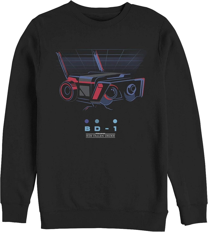 Men's Star Wars Jedi: Fallen Order Retro BD-1 Droid Sweatshirt