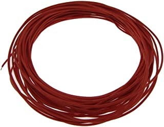 28AWG Copper Tinned Standard Hook Up Wire UL Style 1007/1569 - Red - 15FT