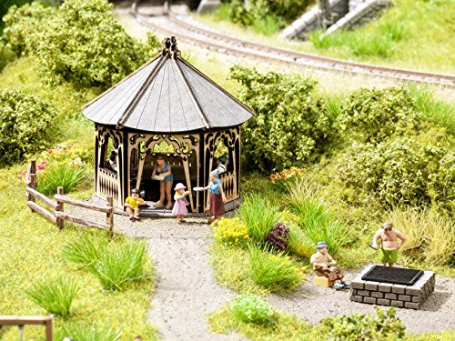 Noch 65612Scenery Set Grill Hütte Landschaft Modellier