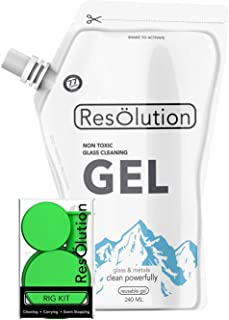 Res Gel & Caps Pipe Cleaning Bundle (RIG SIZE) (Green)