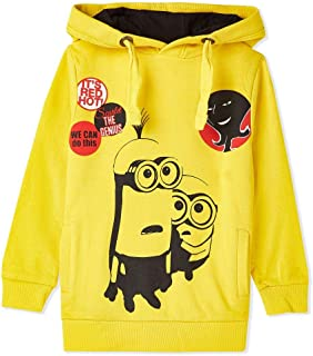Iconic Hoodie For Boys - Yellow Size: 2-3 years old