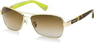 Kính mắt nữ cao cấp – Sunglasses – Caroline / Frame: Gold Lens: Brown Gradient-HC7012910013