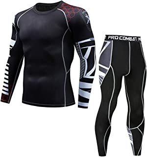 Athletic Running Cycling Tights Suit Mens Fitness Mountain Bike T-Shirt Pant Bodybuilding Skin Tight-Drying Top