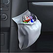 AICase 30Pcs Car Garbage Bag PVC Waterproof Leakproof Disposable Auto Trash Can Bag for Litter Large Capacity Leak-Proof Portable Convenient