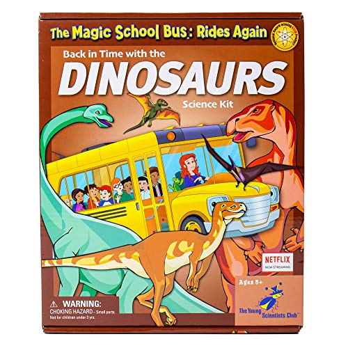 Magic Schoolbus Back in Time With Dinosaurs Science Kit For Kids