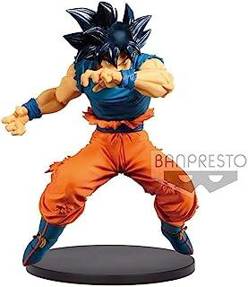 Banpresto Dragon Ball Super Estatua Blood of Saiyans Ultra Instinct Sign Son Goku, Multicolor, 16 Centimeters (BANP82982)