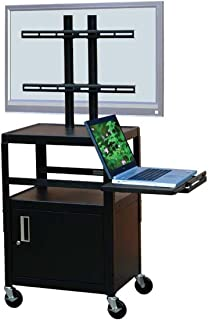 VTI Adjustable Cabinet Cart for up to 32