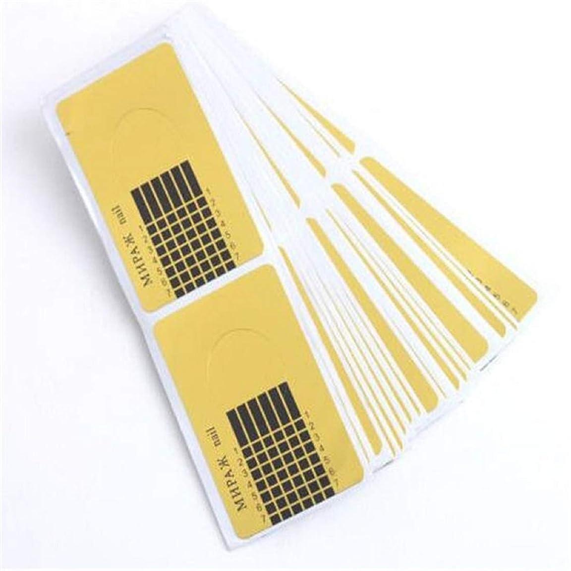 はずスマイルお嬢Wadachikis 信頼性デザイン100個新しいコンセプトゴールド昆虫タイプ指トリートメント爪サポートクリスタル特殊ホルダー(None golden)