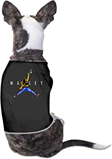CY SHOP Air Marley Bob Pet Service Pet Clothing Funny Dog Cat Costume Tshirt