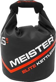 Meister Elite Portable Sand Kettlebell - Soft Sandbag Weight - 15lb / 6.8kg