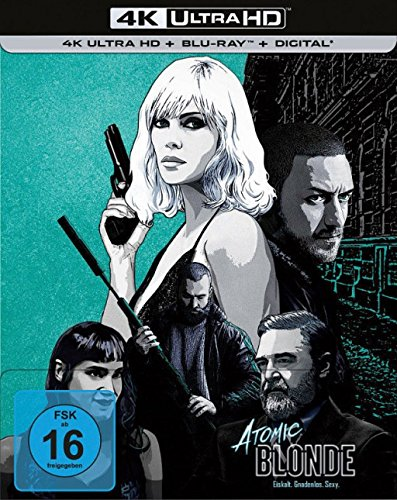 Atomic Blonde - 4K Ultra HD Blu-ray + Blu-ray / Steelbook (4K Ultra HD)