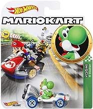 Hot Wheels Yoshi Super Mario Kart Character Car Diecast 1:64 Scale