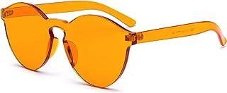 J&L Glasses Retro Lunette de LUNETTES DE SOLEIL Vue Femme Homme Unisexe, Vintage Lunettes, Lentille Coloré