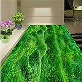 3D créatif haute - pâte de gazon d'herbe de définition faite sur commande à grande échelle - peintures murales d'usure de PVC - film plastique résistant-250 * 175Cm