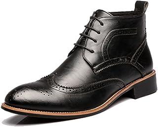 53805d39317 YJiaJu Zapatos Brogue para Hombre con Cordones
