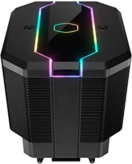 Cooler Master MasterAir MA620M Dual Tower Addressable RGB CPU Air Cooler w/ 6 CDC Heat Pipes, SF120R Fan, hexagon logo and Embedded Addressable RGB Lighting Strip