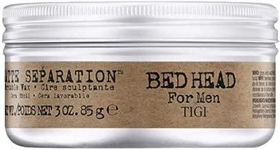 Bed Head Men Matte Separation Workable Wax by TIGI- 3oz 3pk