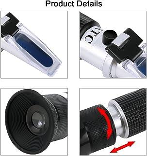 Providethebest Automotriz Antifreez refractómetro congelación Herramienta Puntos de urea AdBlue batería de fluidos de agua de