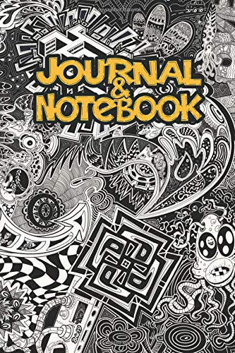Doodle Journal and Notebook: 120 Lined Pages - 6 x 9