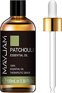Sponsored Ad - MAYJAM Patchouli Essential Oils 100ML/3.38FL.OZ Pure & Therapeutic Grade Essential Oil for Diffuser Massage...
