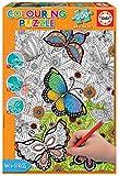 Educa- All Good Things Are Wild and Free Puzzle para Colorear, 300 Piezas, Multicolor (17089)
