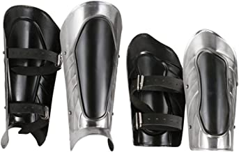Armor Venue - Black Ice Arm Bracer and Greave Set - Black - One Size Armour