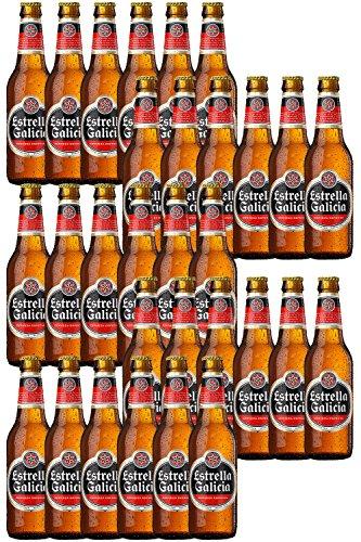 Cerveza Estrella Galicia Spanien 30 x 0,2 Liter