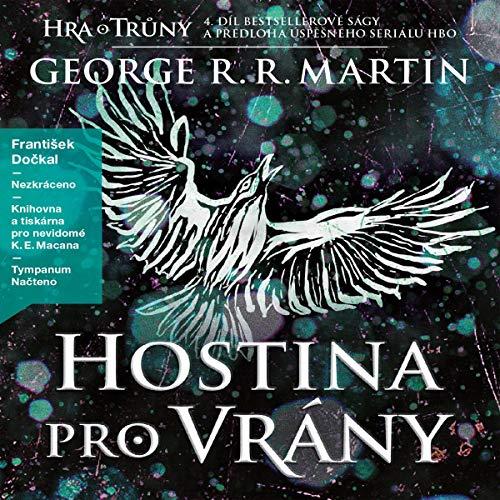 Hostina pro vrány audiobook cover art