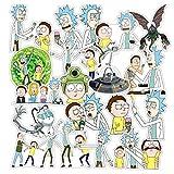 WayOuter Adesivi 100 Pezzi Sticker Vinili per computer portatile, bambini, automobili, motociclette, bicicletta, skateboard bagagli, autoadesivi paraurti Hippie Decals bomba impermeabile