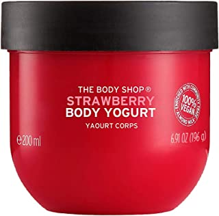 THE BODY SHOP STRAWBERRY BODY YOGURT
