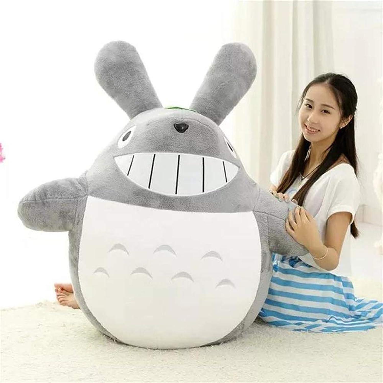 hasta un 65% de descuento Yahpy 25-180cm Hayao Miyazaki Grande Lindo Totoro Felpa Jumbo Gigante Gigante Gigante Grande Animales Peluche muñeca Suave Almohada cojín cumpleaños Regalo Vacaciones,A,80cm  exclusivo