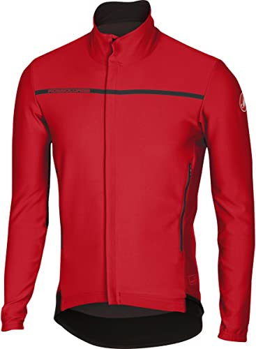 Veste coupe-vent CASTELLI Perfetto rouge (XL)