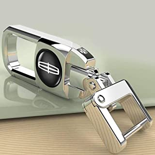 bbbb Silvery Car Key Chain Suit for Lincoln MKC MKZ Continental MKS MKT MKX Decoration Accessories