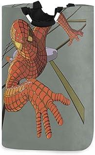 N\A Panier à Linge Spider Hero Grand bac de Lavage Pliant Rangement Pliable Sac à vêtements Pliable 22,7 po pour Laver la ...