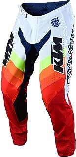 Troy Lee Designs Men's Offroad Motocross SE PRO KTM Mirage Pants (32, White/Red)