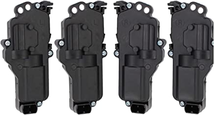 F450 3L322518442AA Right and Left Door Lock Actuator 2pc Kit Fits Ford F150 6L3Z25218A42AA Mustang Expedition Beasteel 6L3Z25218A43AA 3L322518443AA Excursion F250 F350
