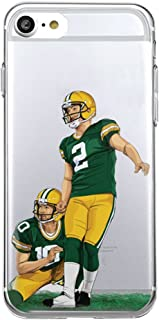 Bap Store Football Silicone Protective Transparent Thin Case Compatible with iPhone 7 Plus/iPhone 8 Plus (14)