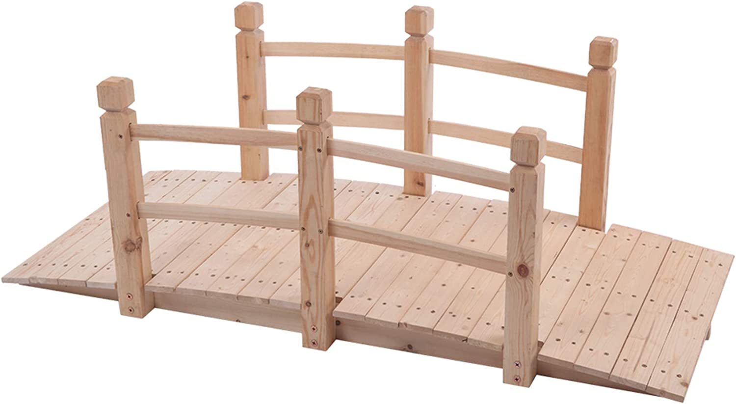Trlec gt4-ly and Durable Arch Small Special Some reservation Campaign Wooden Courtya Bridge