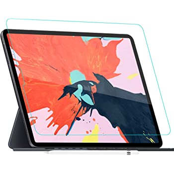 (2pack) Like Paper Screen Protector for ipad pro 12.9-Inch (2020 and 2018 Model),ZOEGAA Compatible with Apple Pencil&Face ID/High Touch Sensitivity/Anti-Glare/Scratch Resistant/Premium PET Flim
