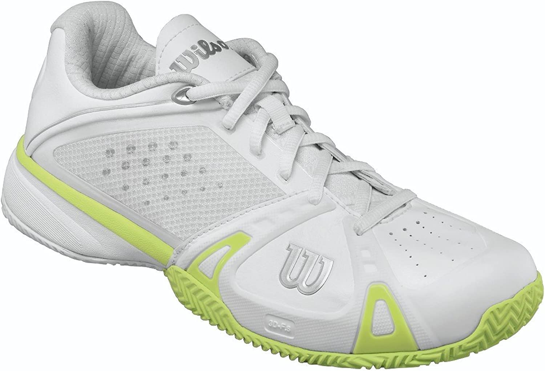 Wilson Women's Rush Pro HC, White Green-5.5 [Apparel]