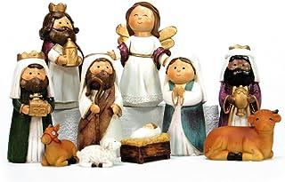 Belén de Navidad Moderno Resina para decoración navideña Christmas - LOLAhome