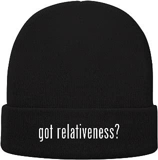 One Legging it Around got Relativeness? - Soft Adult Beanie Cap