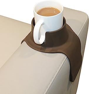 CouchCoaster - il portabicchiere ideale per il tuo divano, Marrone moka