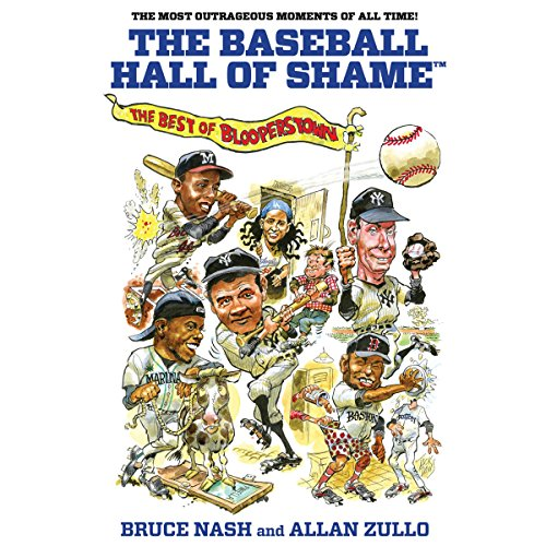 The Baseball Hall of Shame audiobook cover art